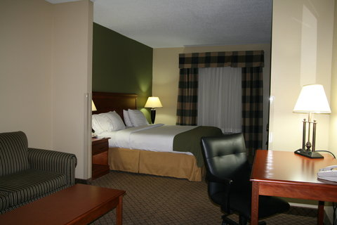Holiday Inn Express & Suites GREENWOOD - King Mini-Suite Guestroom  2