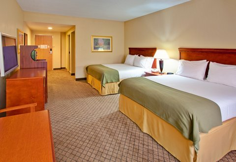 Holiday Inn Express & Suites GREENWOOD - Double Bed Guest Room