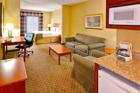 Holiday Inn Express & Suites GREENWOOD - Deluxe Room