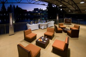 The Buena Vista Patio is a perfect setting for meet & greet events