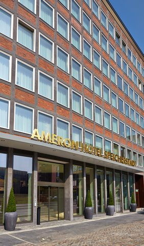 AMERON Hotel Speicherstadt Ham - HSHAussenansicht Hotelfront