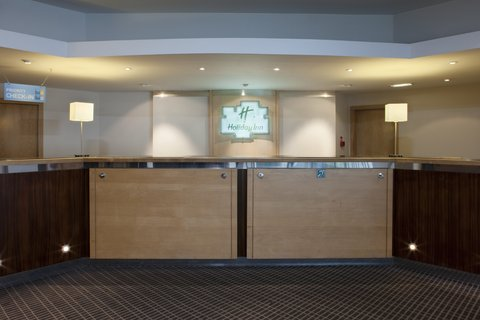 Holiday Inn CARDIFF CITY CENTRE - Reception  a warm Welsh Welcome awaits  Croeso