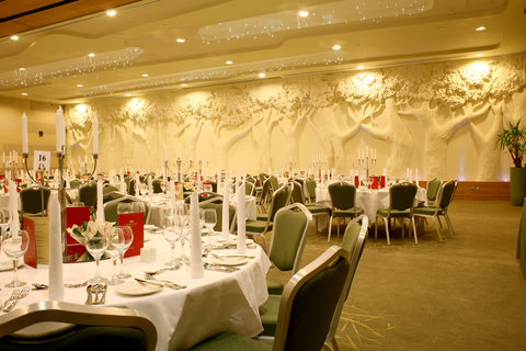 Crowne Plaza DUBLIN - NORTHWOOD - The magnificent striking Redwood ballroom