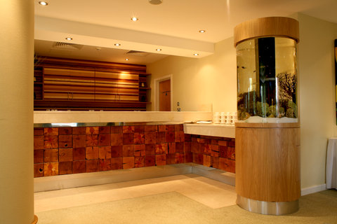 Crowne Plaza DUBLIN - NORTHWOOD - The magnificent marble pre-function area with glass fish tank