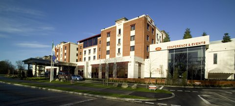 Crowne Plaza DUBLIN - NORTHWOOD - The front exterior view of the hotel