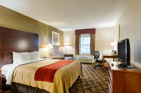 Comfort Inn Auburn - Guest room with one bed