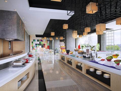 ibis Styles Surabaya Jemursari - Restaurant