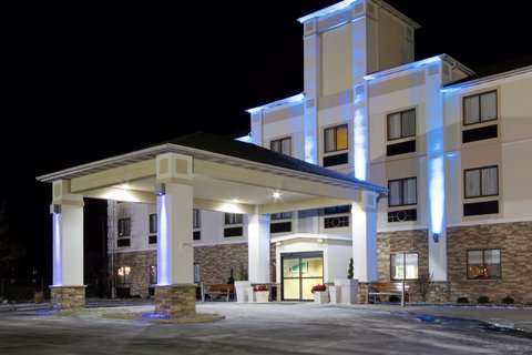 Holiday Inn Express ADRIAN - Blue Lights