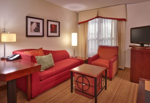 Residence Inn San Diego North/San Marcos - King Studio Suite - Living Area