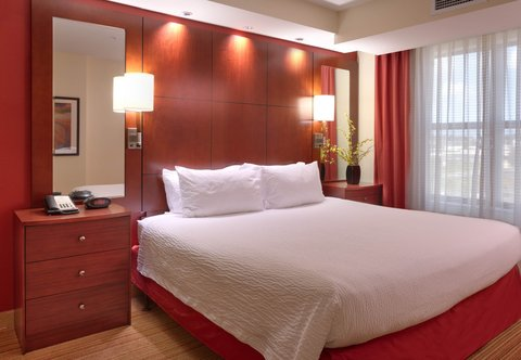Residence Inn San Diego North/San Marcos - One-Bedroom King Suite - Sleeping Area  Accessible