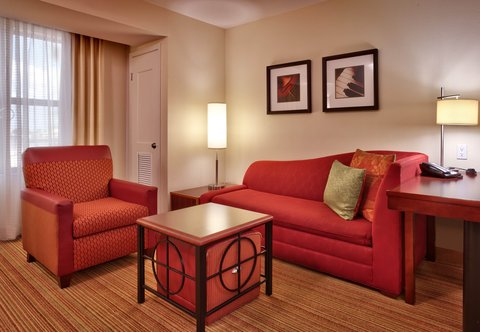 Residence Inn San Diego North/San Marcos - One-Bedroom King Suite - Living Area  Accessible