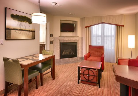 Residence Inn San Diego North/San Marcos - One-Bedroom Double Double Suite - Living Area