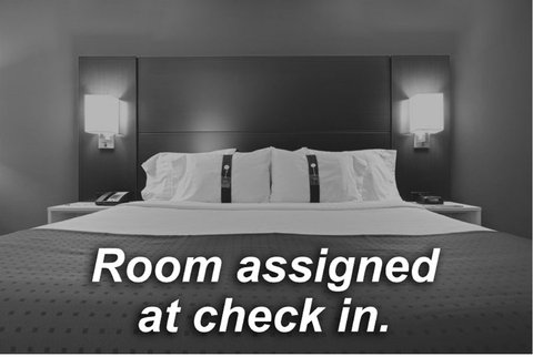 Holiday Inn Express Hotel & Suites Evanston - Room Bed Type Not Guaranteed