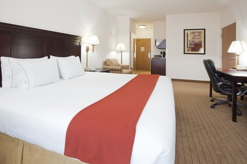 Holiday Inn Express Hotel & Suites Evanston - King Bed Guest Room