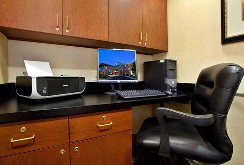 Holiday Inn Express Hotel & Suites Centerville - Business Center
