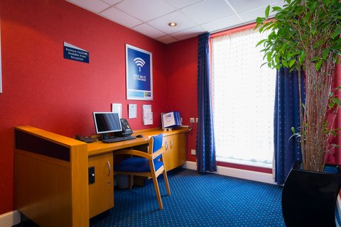 Holiday Inn Express Aberdeen City Centre - Business services available from reception  ask for details
