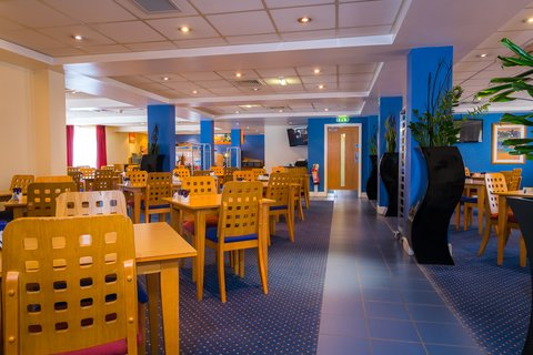 Holiday Inn Express Aberdeen City Centre - Take your time at breakfast  open until 10 30am at weekends