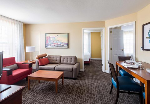 TownePlace Suites Los Angeles LAX/Manhattan Beach - Two-Bedroom Suite - Living Room