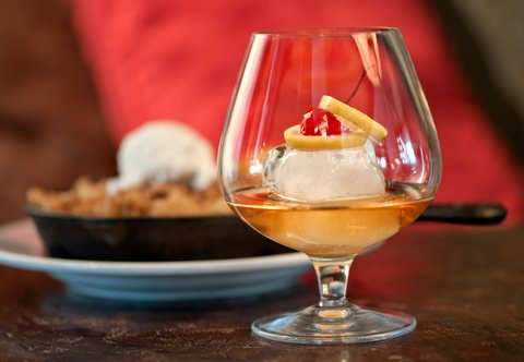 J.W. Marriott Denver At Cherry Creek Hotel - Old Fashioned and Dessert