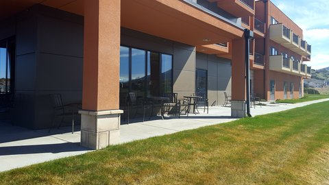 Holiday Inn Express & Suites Pocatello - Guest Patio