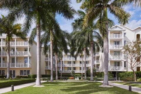 The Reach, A Waldorf Astoria Resort - Resort Exterior  Palms