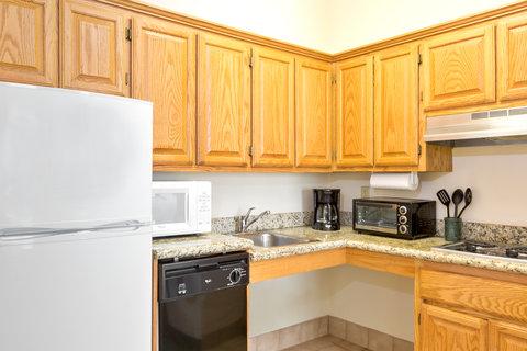Staybridge Suites BROWNSVILLE - ADA Handicapped accessible Suite kitchen