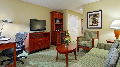 希爾頓黑得希爾頓花園酒店 - Suite Living Area