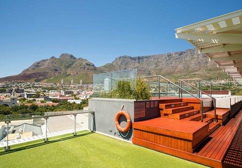African Pride 15 on Orange Hotel - Rooftop Pool - View