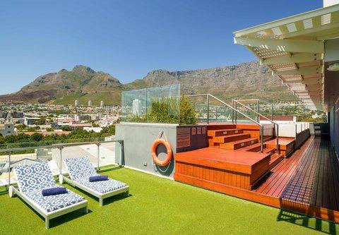 African Pride 15 on Orange Hotel - Rooftop Pool - Seating