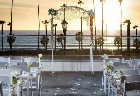 SpringHill Suites San Diego Oceanside/Downtown - Ceremony Setup