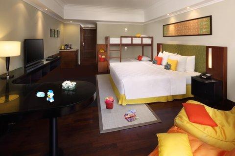 Nikko Bali Resort and Spa - Family Room Bunk Bed