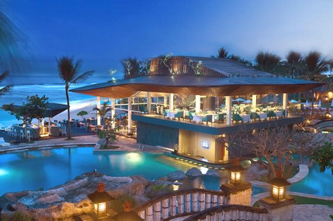 Nikko Bali Resort and Spa - The Shore Restaurant   Bar