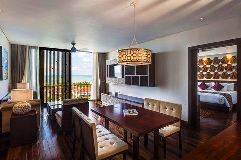 Salinda Premium Resort and Spa - Suite Sea View Living Room at Salinda Resort