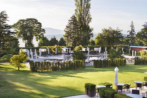 日内瓦香格里拉酒店及温泉 - Exterior