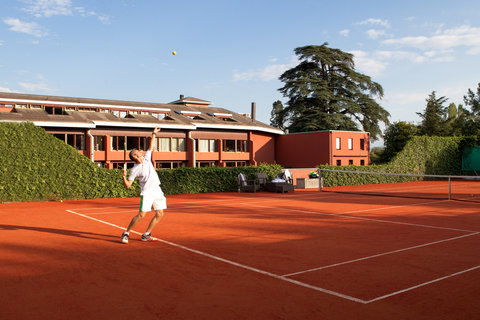 日内瓦香格里拉酒店及温泉 - Tennis Court