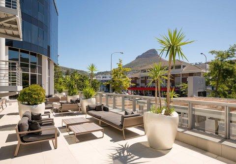 African Pride 15 on Orange Hotel - Murano Bar - Outdoor Terrace   View