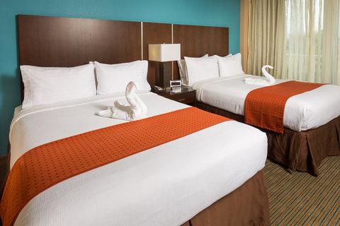 Holiday Inn Resort DAYTONA BEACH OCEANFRONT - 2 Queen Beds Ocean View looking South
