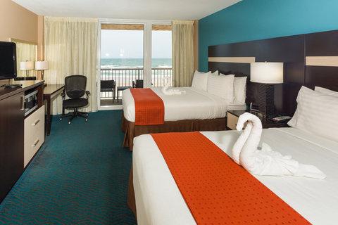 Holiday Inn Resort DAYTONA BEACH OCEANFRONT - Standard Oceanfront Room with 2 Queen Beds