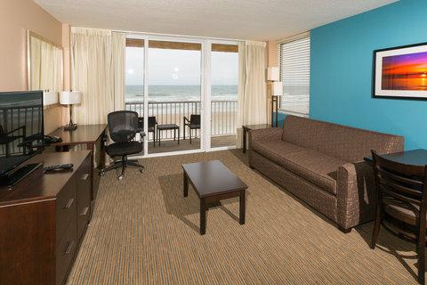 Holiday Inn Resort DAYTONA BEACH OCEANFRONT - King Suite Living Area