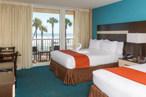 Holiday Inn Resort DAYTONA BEACH OCEANFRONT - Accessible 2 queen bed room overlooking the Atlantic Ocean