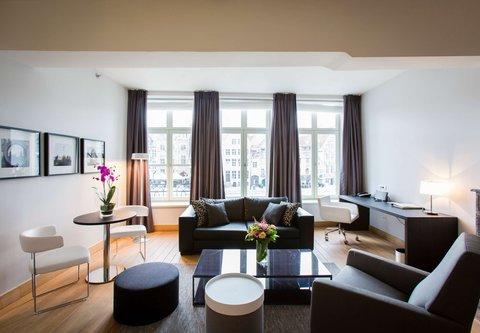 根特万豪酒店 - Presidential Suite - Living Area