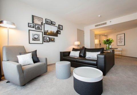 根特万豪酒店 - Senior Suite - Living Area