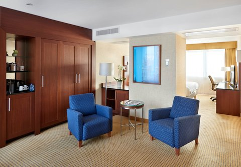 根特万豪酒店 - Junior Suite - Sitting Area