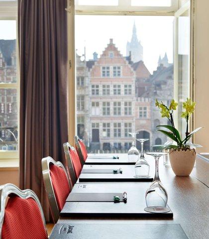 根特万豪酒店 - Presidential Suite - Meeting Room Setup