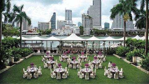 โรงแรมเพนนินซูล่า กรุงเทพ - The Peninsula Lawn