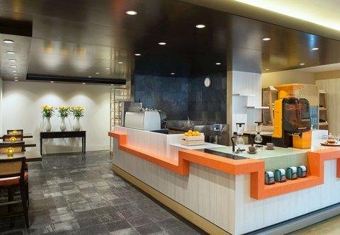 فندق ماريوت هاربر دبي - Counter Culture Caf  - Live Beverage Station