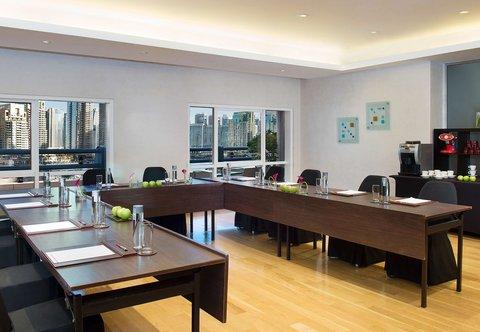فندق ماريوت هاربر دبي - Meeting Room - U Shape Setup