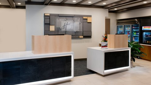 Holiday Inn Express NASHVILLE AIRPORT - Newly Renovated Front Desk
