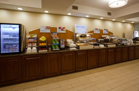 Holiday Inn Express CEDAR RAPIDS (COLLINS RD) - Breakfast Bar