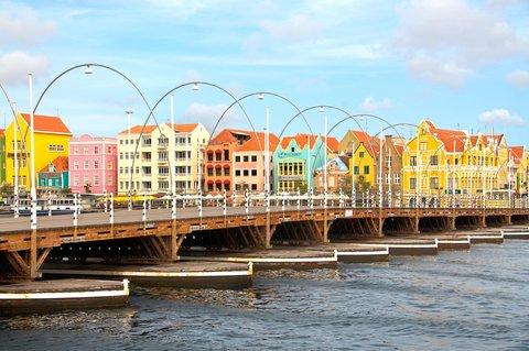 Curacao Hilton Hotel - Willemstad Floating Bridge